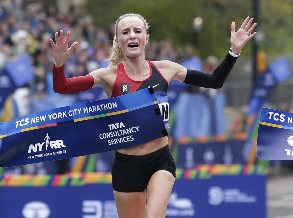 Shalane Flanagan, who last fall became the first U.S. woman to win the New York City Marathon since 1977, is taking one more shot at her home race – the Boston Marathon.