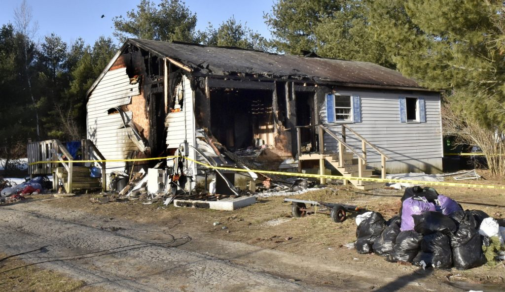 This home at 7 Somerset Ave. in Fairfield was heavily damaged by fire Sunday night into early Monday morning.