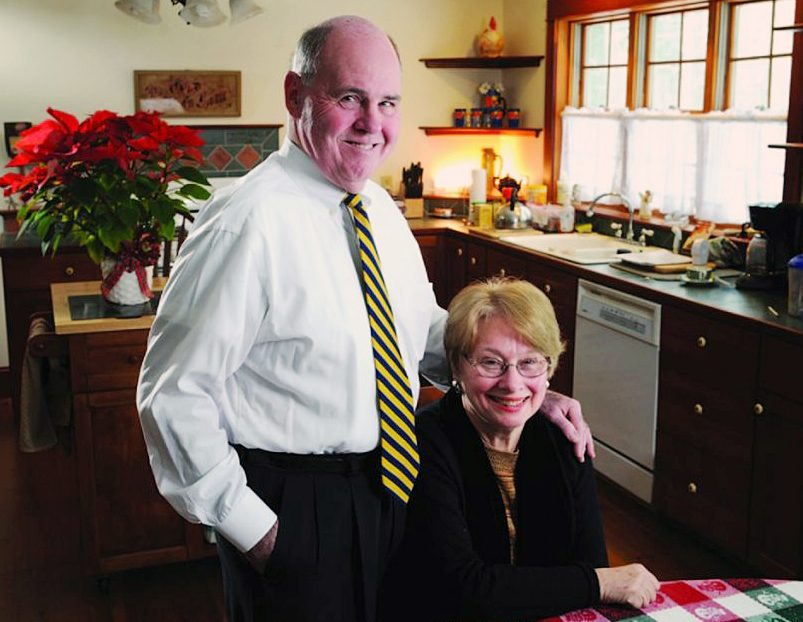 Steve Ford and his wife, Mary, have been consistent contributors to Colby College over the last several decades. Their latest gift amounts to $2.5 million and is dedicated to providing financial aid to students from the state of Maine.