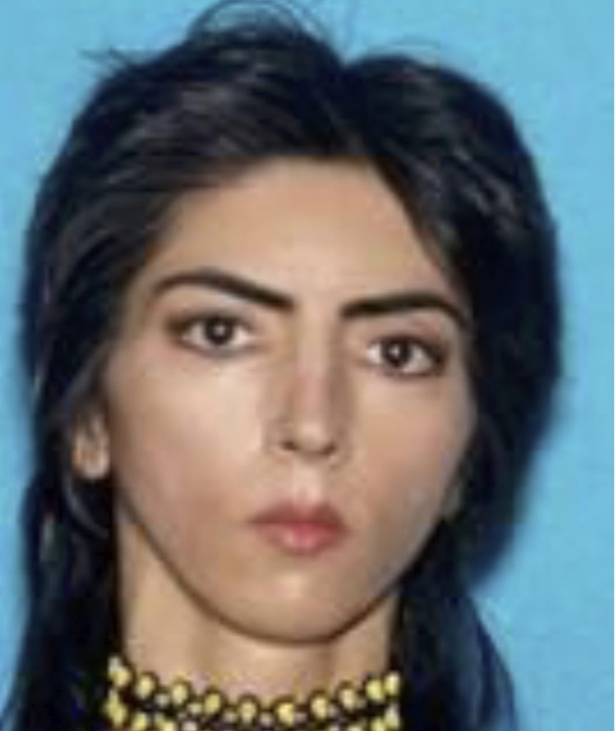 This undated photo provided by the San Bruno Police Department shows Nasim Aghdam.