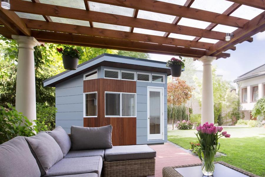 A spiffy new shed can make your back yard an even more pleasant haven.