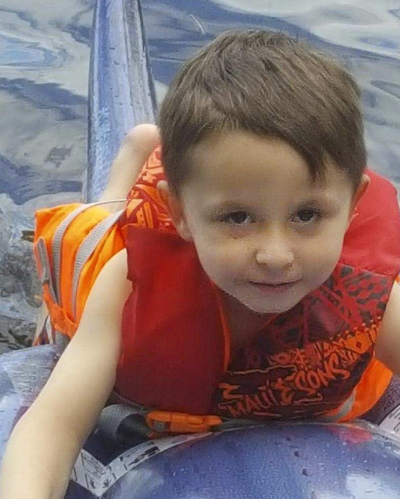 A volunteer search effort for the body of for the Valerio McFarland was launched Wednesday along the west bank of the Androscoggin River.