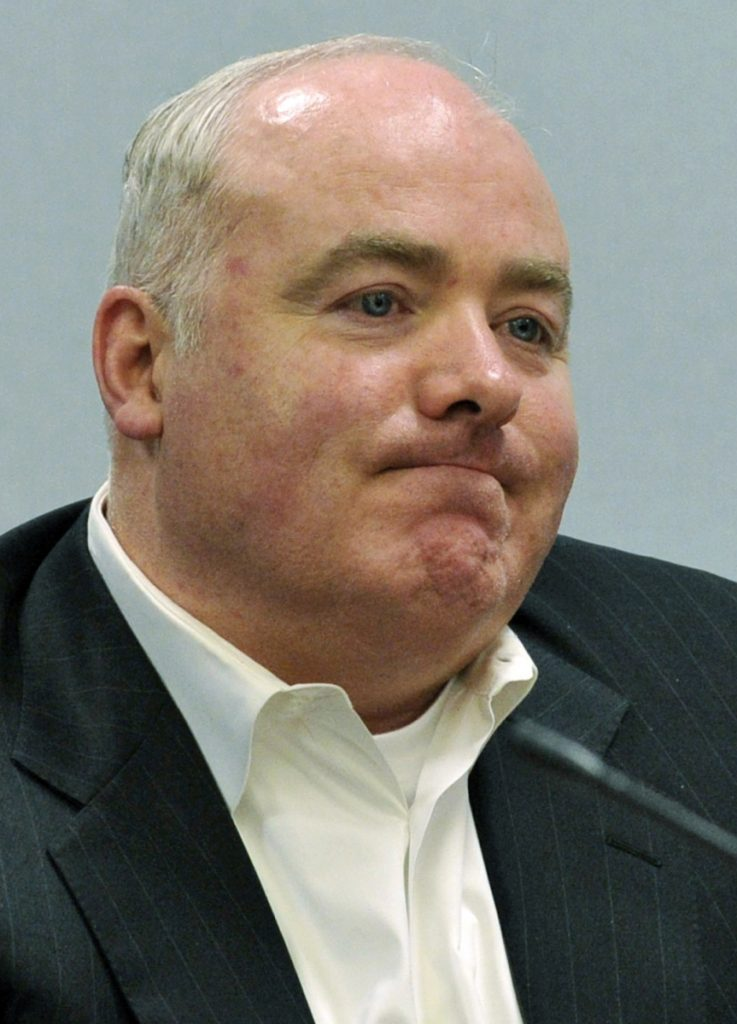 Michael Skakel, shown at a court hearing in 2013, will get a new trial in connection with a 1975 killing in wealthy Greenwich, Connecticut. The Connecticut Supreme Court on Friday vacated Skakel's murder conviction.
