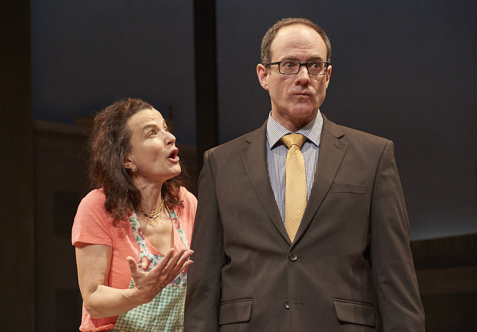"""Anney Giobbe as Sarah and Christopher Holt as Alan in """"Sex and Other Disturbances."""