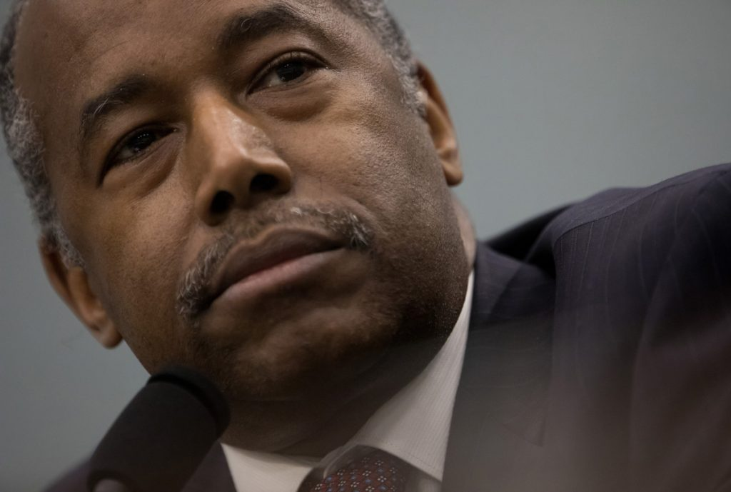 HUD Secretary Ben Carson has long been a critic of federal efforts to desegregate neighborhoods.
