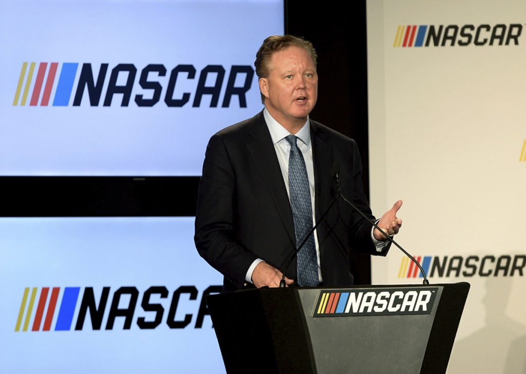 Brian France is the CEO and Chairman of NASCAR.