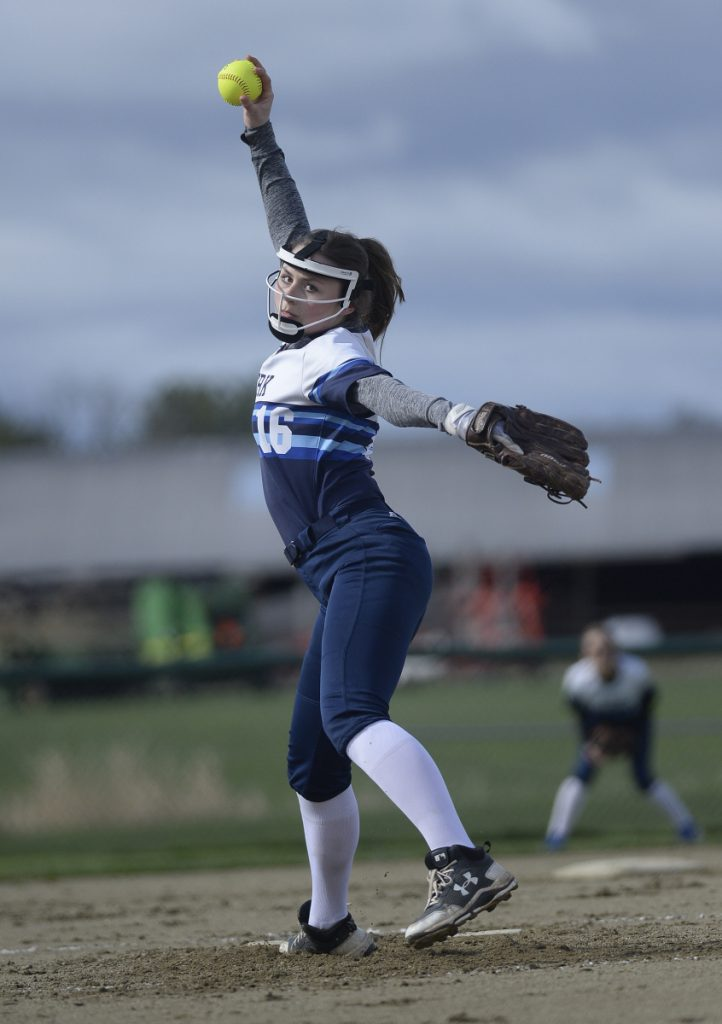Abby Orso of York broke her arm in the third game of the season after starting 3-0 with 43 strikeouts.