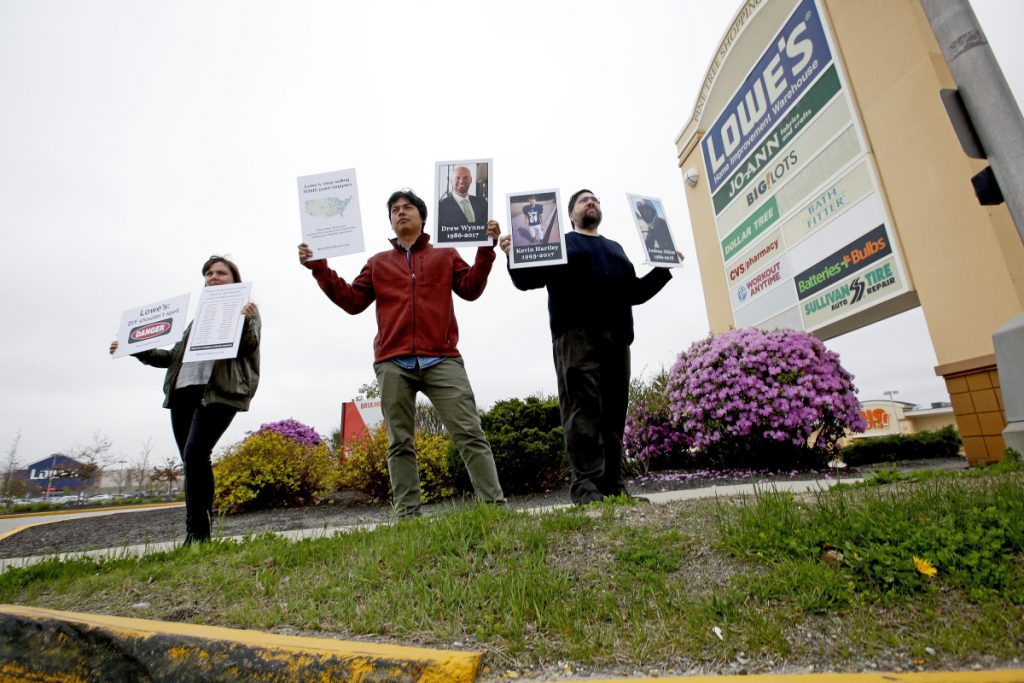 Mainers join effort to pressure Lowe's to drop paint strippers with deadly  chemical