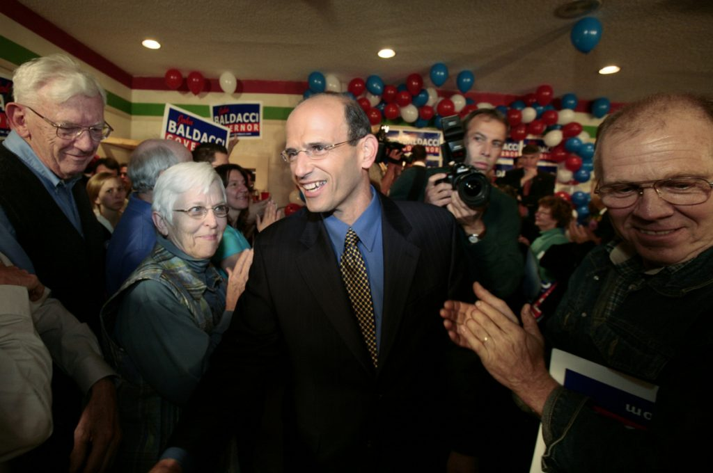 A reader notes that after John Baldacci was re-elected governor with 38 percent of the vote in 2006, conservatives talked about switching to ranked voting.