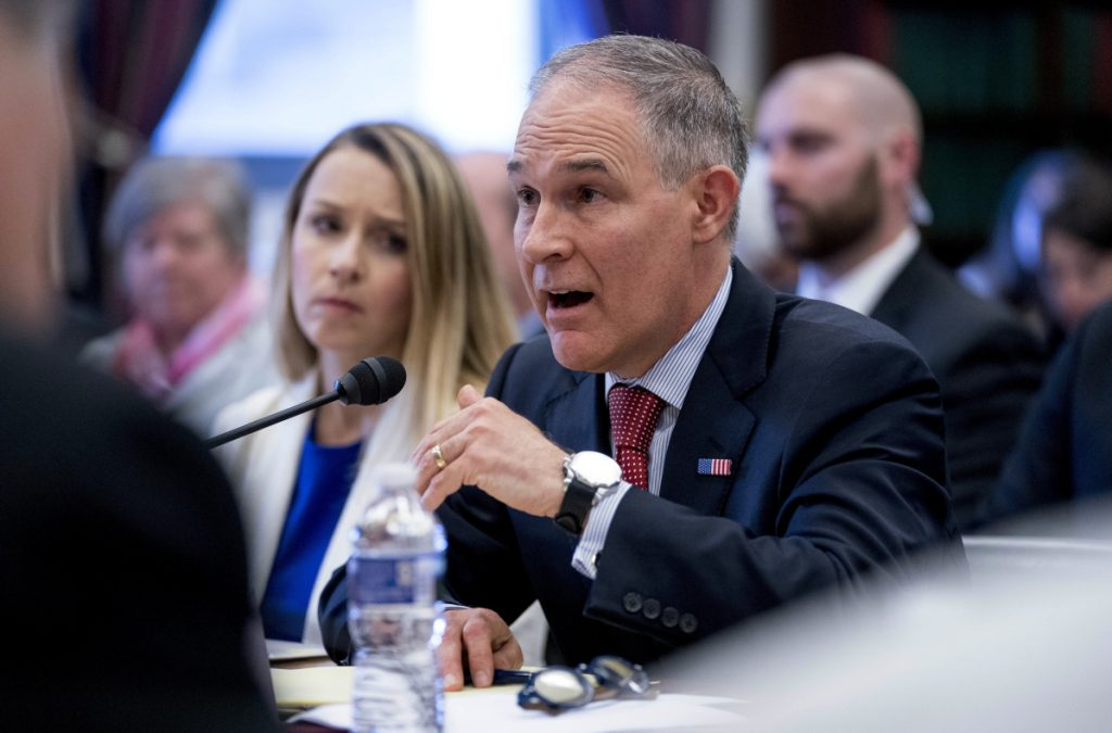 EPA administrator Scott Pruitt on Thursday announced a major shift in enforcement of the Clean Air Act to include feedback from state and local governments.