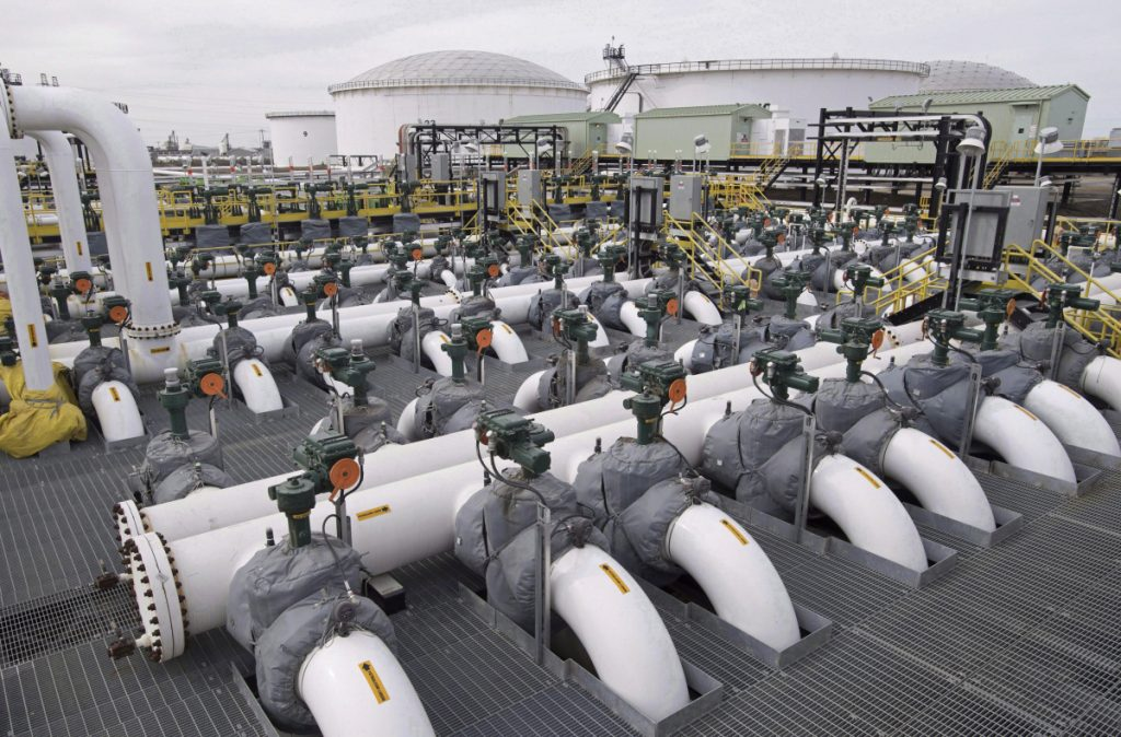 The government of Alberta – the Kinder Morgan Trans Mountain oil facility is located in Edmonton – threatened to cut off oil exports to greater Vancouver in response to provincial opposition to a proposed pipeline expansion.