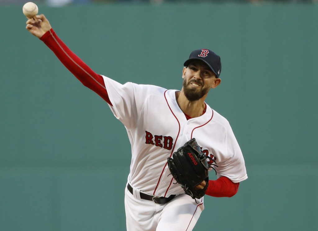 Rick Porcello suffered his first loss of the season, allowing five runs on nine hits in six innings as the Red Sox lost 6-5 to Oakland on Monday in Boston.