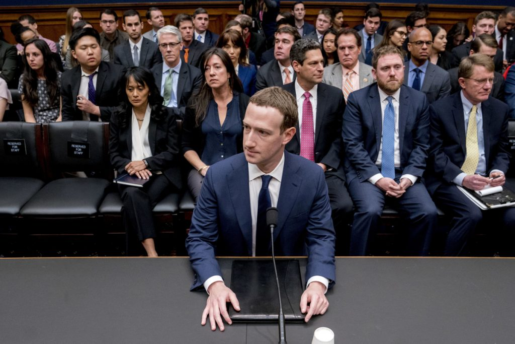 Mark Zuckerberg prepares to testify in April before a House committee about how Facebook data was mined and used for political purposes in 2016. The company emerged from the CEO's testimony largely unscathed.