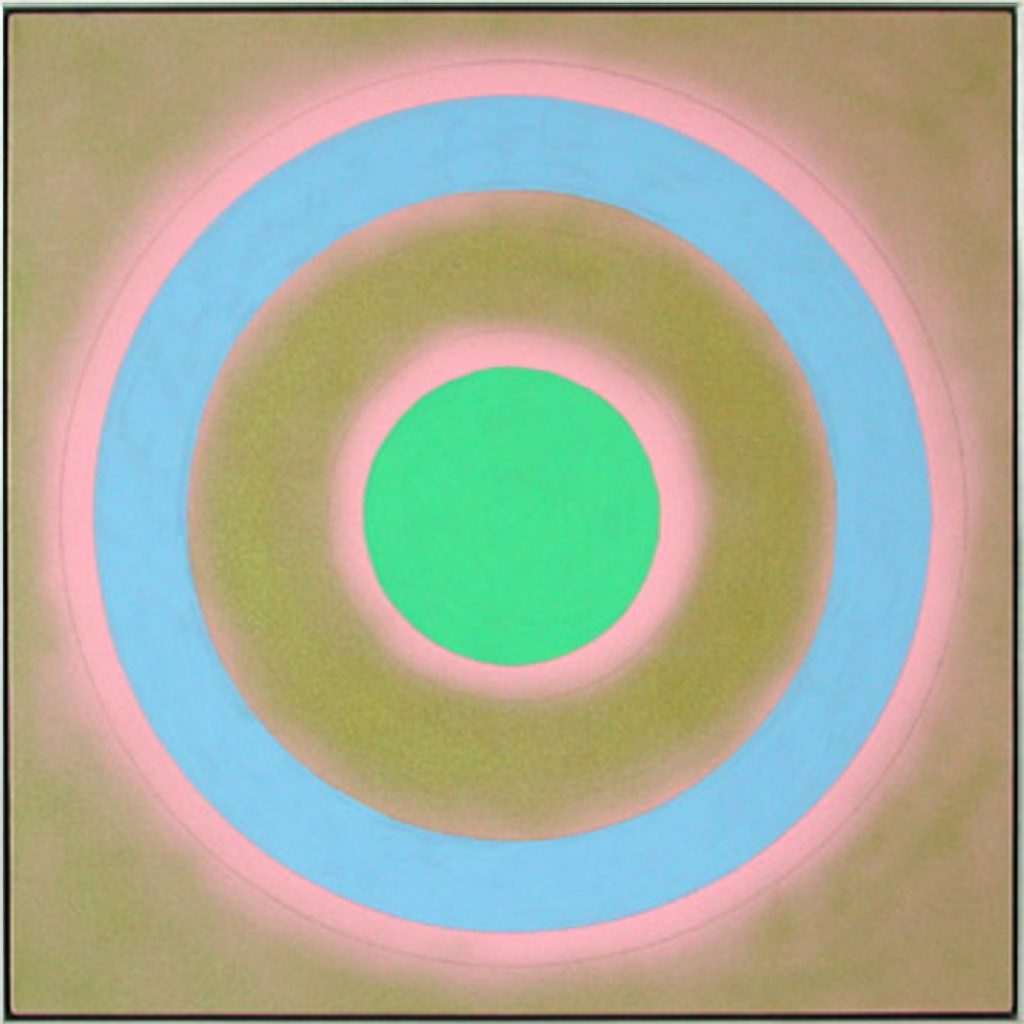 "Kenneth Noland, ""Mysteries – Gold Silence"""