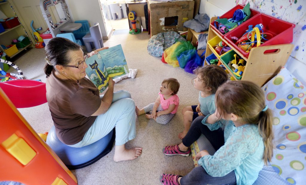 Day care takes up nearly 11 percent of the median income of a married Maine couple; a single parent pays over 30 percent of median income.