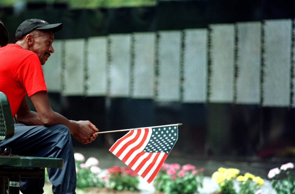 The virtual Wall of Faces project has for nearly 20 years tried to collect a photo to match each of the names on the Vietnam Veterans Memorial Wall in Washington, D.C. The project today is near completion.