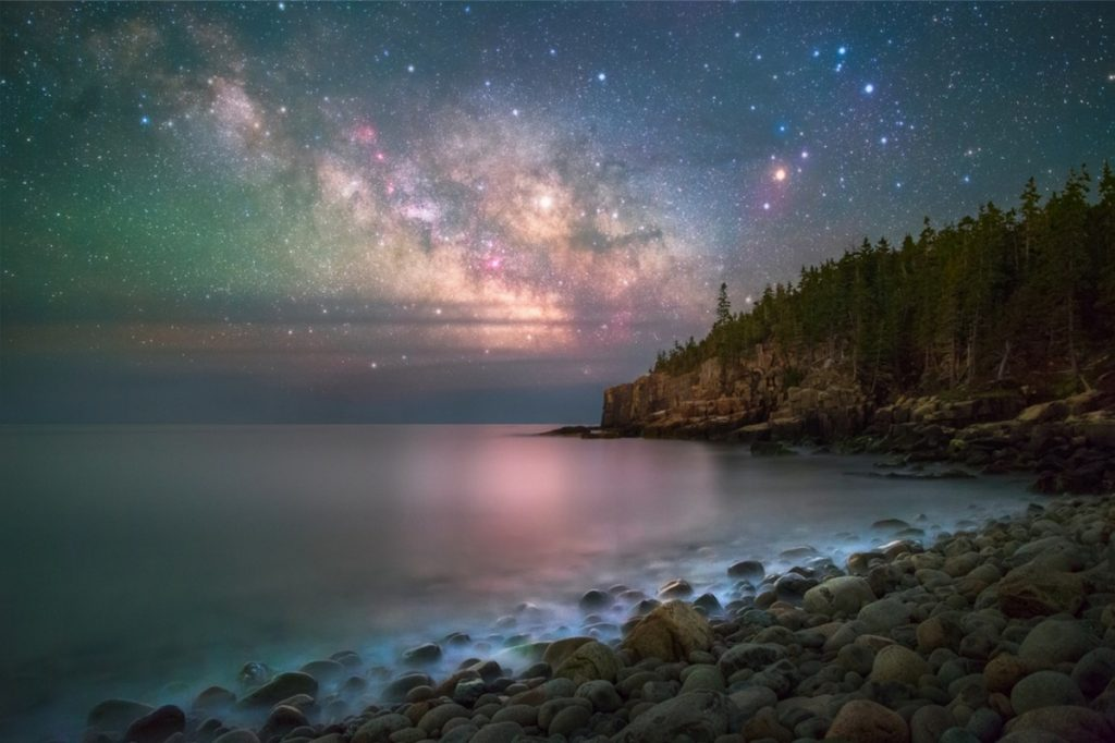 This photo won the Share The Experience photo contest, meant to draw attention to national parks, and was taken in Acadia National Park by Manish Mamtani.      Manish Mamtani photo, courtesy of U.S. Department of the Interior