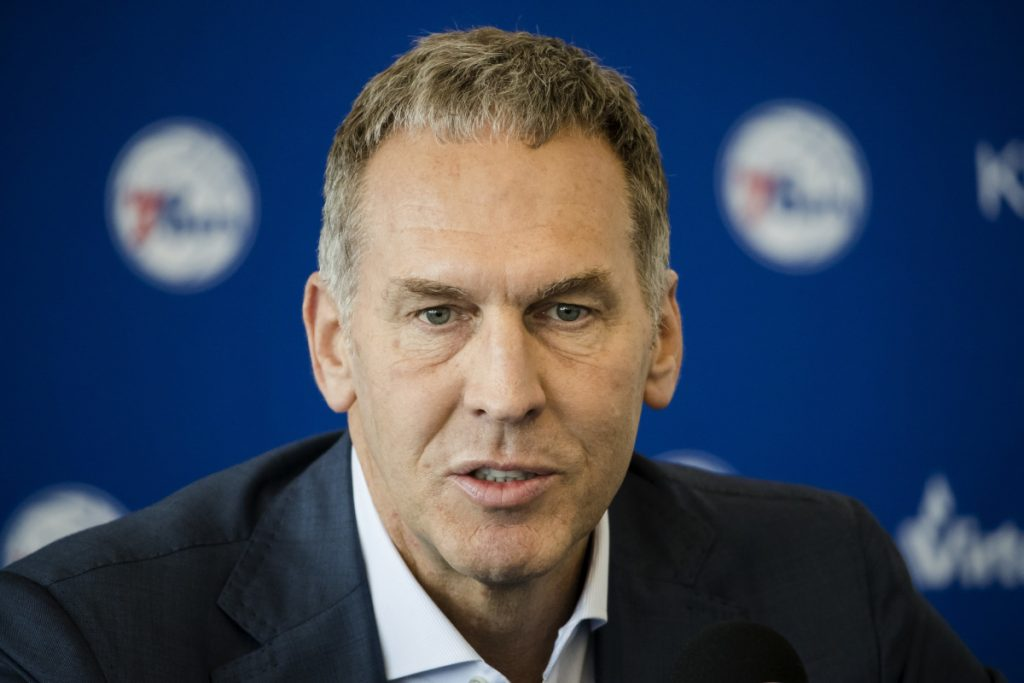Bryan Colangelo, general manager of the Philadelphia 76ers.