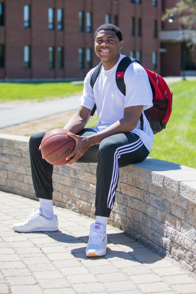 Carlos Gonzalez is looking forward to his bright future as he is set to graduate from Thomas College on Saturday.
