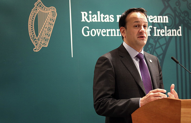 Irish Prime Minister Leo Varadkar in December 2017.
