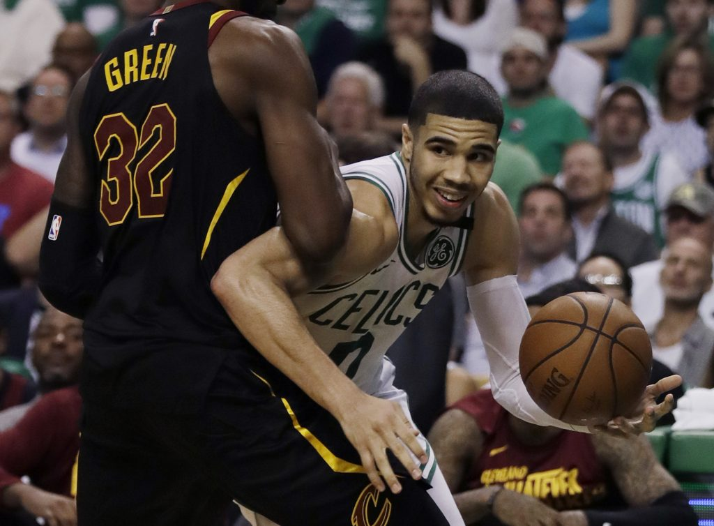 Jayson Tatum and the Boston Celtics have not lost at home in the postseason this year, but they can't count on that alone in Game 7 on Sunday against the Cleveland Cavaliers.