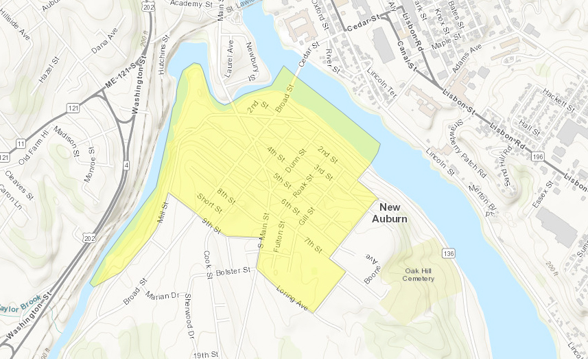 Take A Look At Where The Maine Opportunity Zones Are Portland
