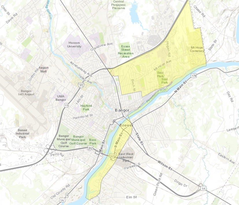 Take A Look At Where The Maine Opportunity Zones Are
