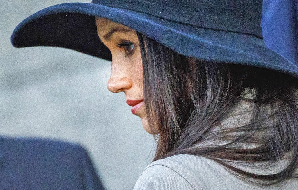 Meghan Markle attends an event  at Hyde Park Corner in London on April 25, 2018. Her father, Thomas Markle, has said he won't attend the royal wedding.