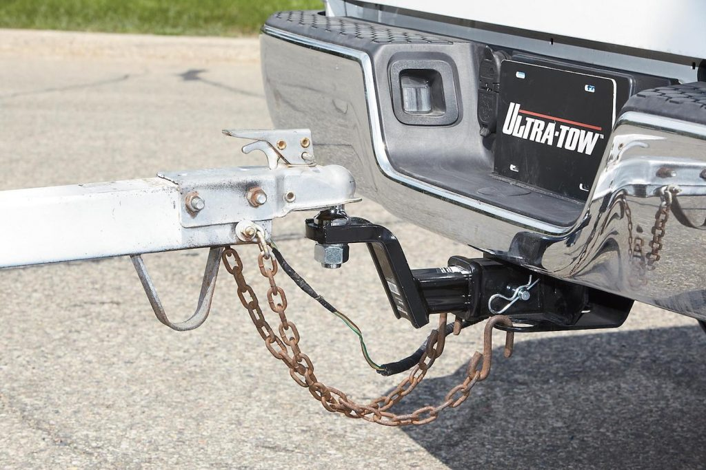 When in doubt, a new hitch is always a good idea.