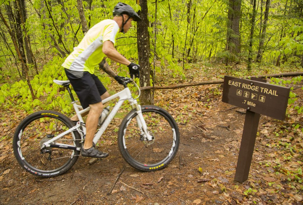 Central maine mountain bike chapter extends trails in for Portland maine bike trails