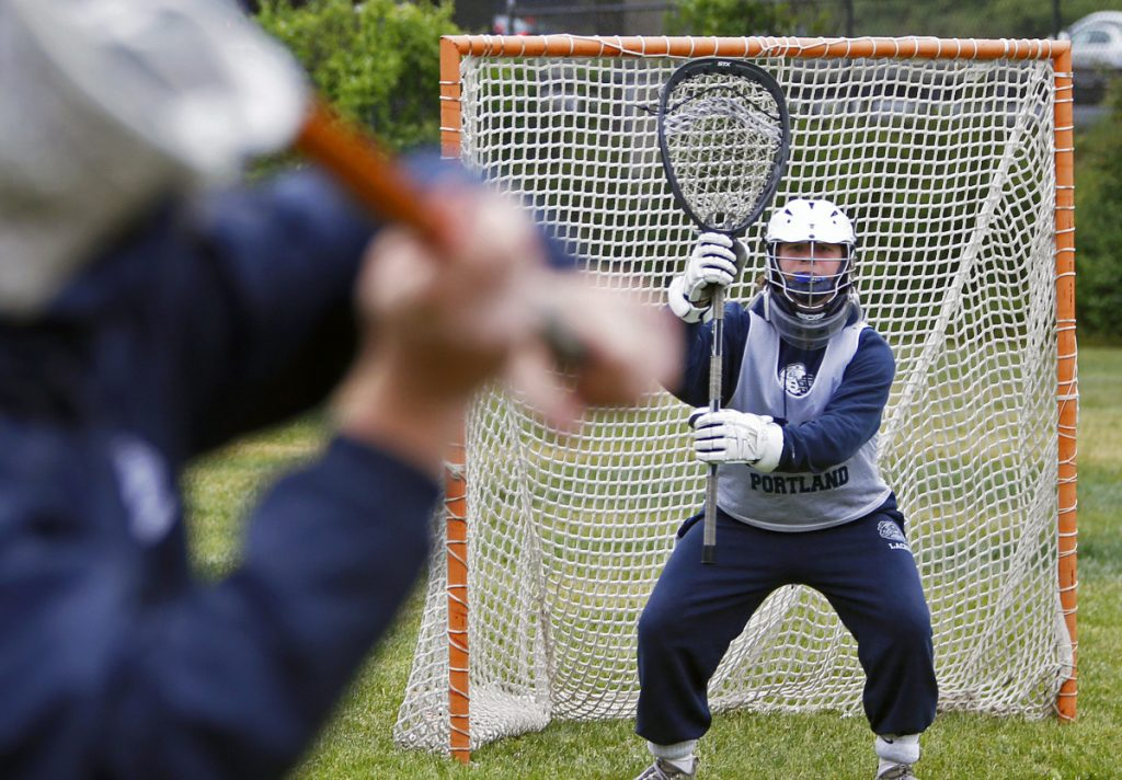 Goalie Aaron Hoekstra has been the heart of the Portland turnaround in boys' lacrosse this season, the anchor of a defense that has allowed an average of just 5.2 goals per game. The Bulldogs are 11-1 and will be home for a regional quarterfinal Friday against Bangor or Windham.