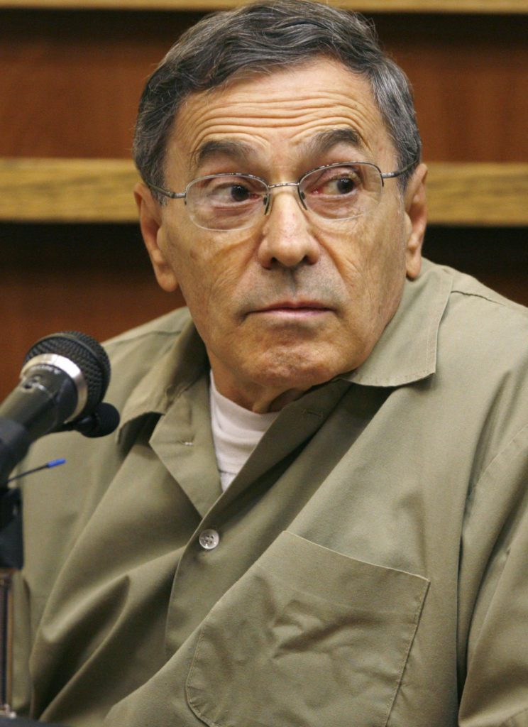Stephen Flemmi, shown in 2008, failed to recognize his old friend Francis Salemme in court Wednesday.