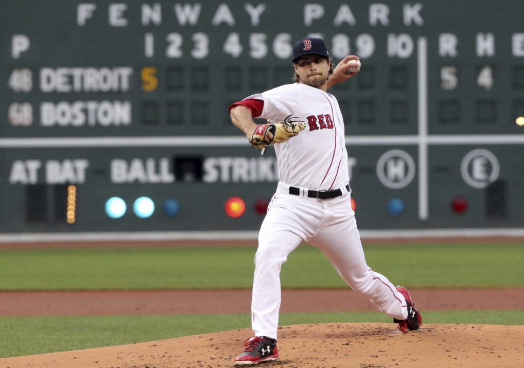 Jalen Beeks did not have a very good debut for the Boston Red Sox Thursday night. He allowed five runs in the first inning, and Boston fell to Detroit 7-2 at Fenway Park.