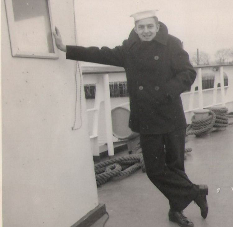 To ensure the smooth sailing of any craft – literal or metaphorical – one must respond quickly to the return of the captain, says humble, seen aboard the Coast Guard cutter Laurel in 1957.