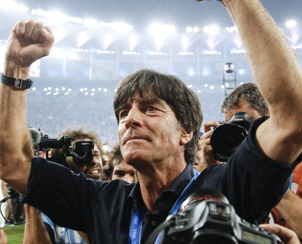 Germany Coach Joachim Loew has built one of the best resumes in international soccer history, including the 2014 World Cup title and 7-1 win over Brazil in the semifinals that year.
