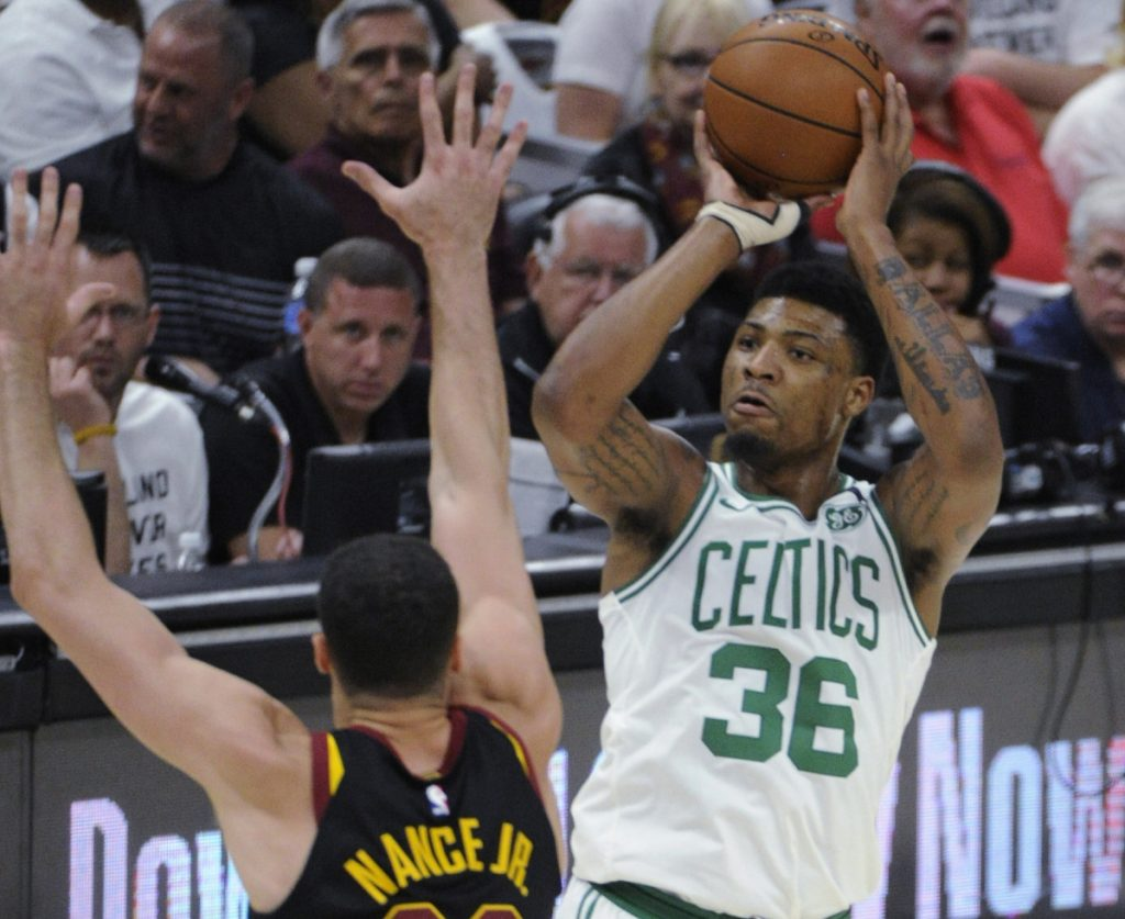 When Marcus Smart shoots, Celtics fans are not always thrilled, but his defense and intensity make him a player many teams would like to add to their roster.