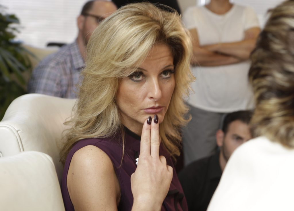 "Summer Zervos, who appeared on the reality show ""The Apprentice,"" said that Trump kissed her on the lips several times in 2007."