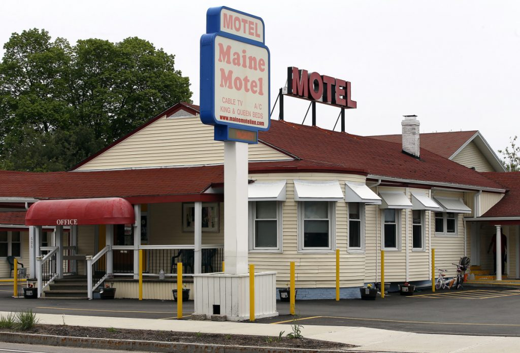 """David Lourie, who represents the owners of the Knights Inn and the Maine Motel on Route 1 in South Portland, above, said his clients """"have agreed to these conditions, not that they think they're warranted."""" They want to keep operating and """"move on with their lives,"""" Lourie said."""