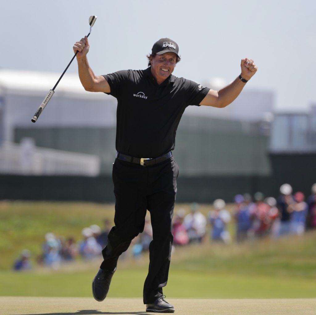 Phil Mickelson might be best remembered for his unique putting strategies at the 2018 U.S. Open, probably more than Brooks Koepka surviving a difficult course to win his second straight title. It is part of a trend, focusing on the courses, officials and negative moments more than the accomplishments of the golfers.