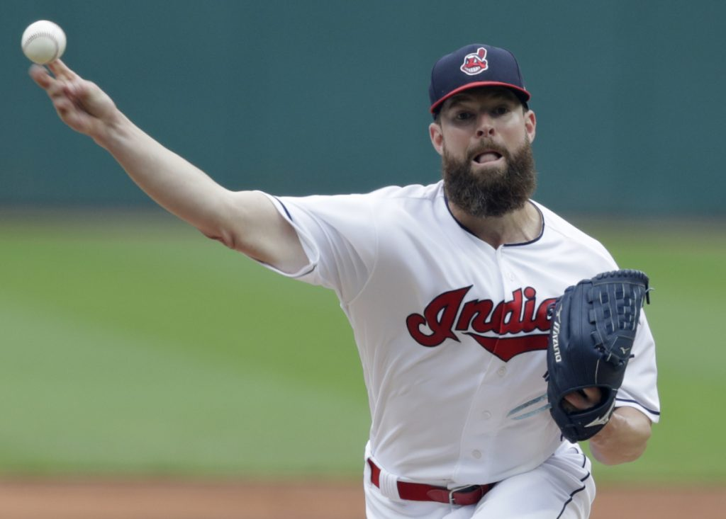 Corey Kluber became the first pitcher to reach 11 wins on Wednesday as the Cleveland Indians rolled to a 12-0 win over the Chicago White Sox.