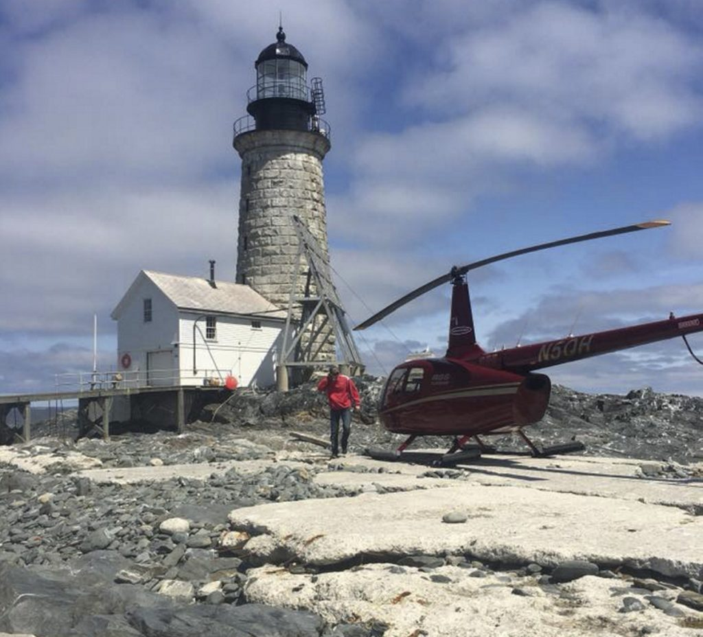 Seacoast Helicopters will start offering regular tours of the Casco Bay area this month for the first time from Portland International Jetport. Seacoast's tours include a 30-minute flight around Portland for $129 per person; an hourlong trip to Halfway Rock, with a tour of the restored light station, for $249 per person; and a two-hour Halfway Rock tour and picnic lunch for $399 per person.