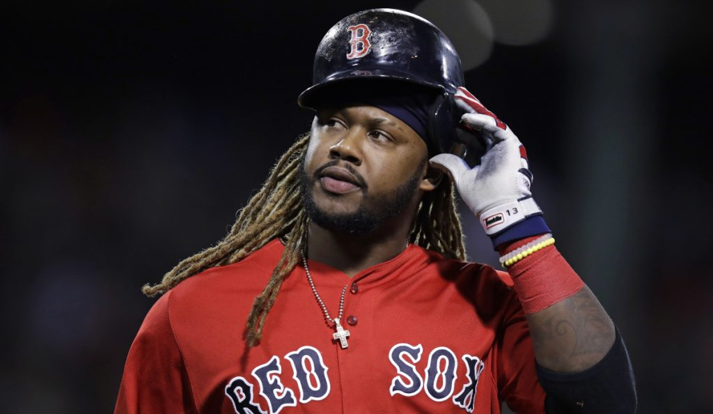 The Boston Red Sox designated slugger Hanley Ramirez for assignment on May 25. (AP Photo/Charles Krupa)