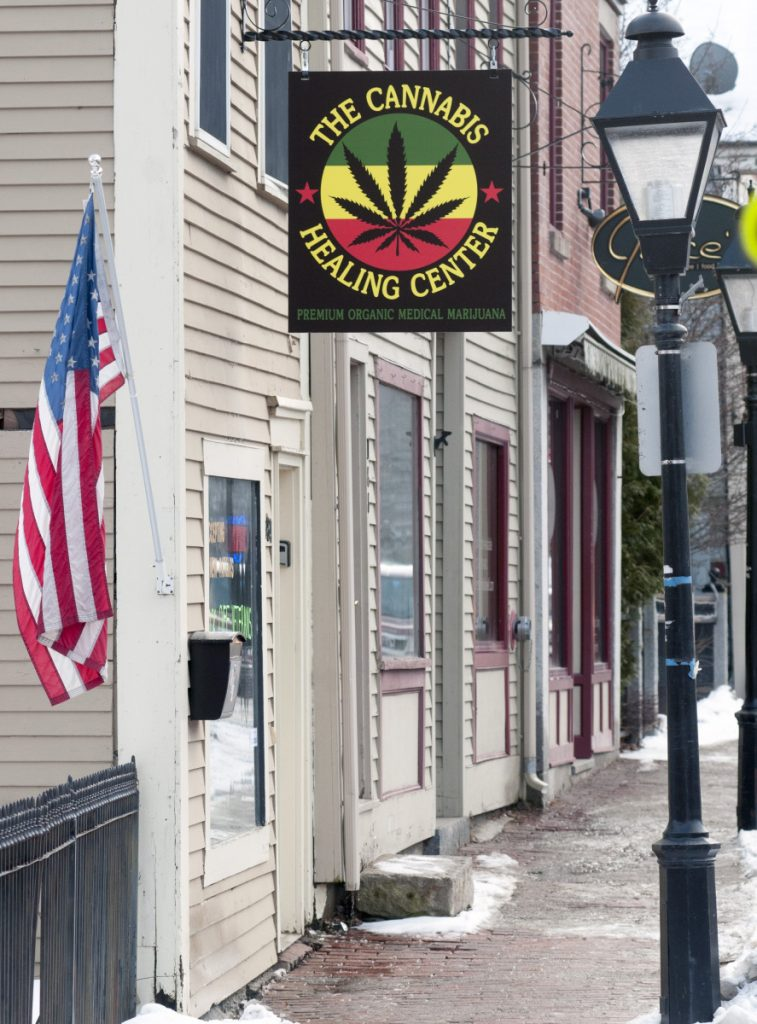 The Cannabis Healing Center in Hallowell