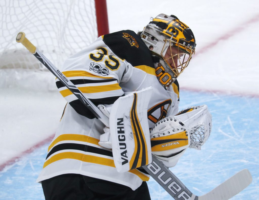 Anton Khudobin, backup goalie for the Bruins, has decided to test the free-agent market.