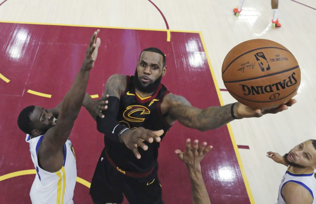 d5db5f77db64 LeBron James has opted out of his contract with Cleveland and will be an  unrestricted free