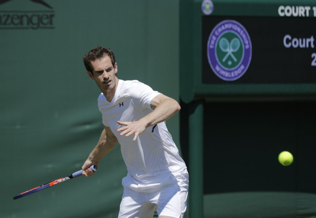 Andy Murray is a two-time champion at Wimbledon, but is not seeded this year as he makes his way back after hip surgery.