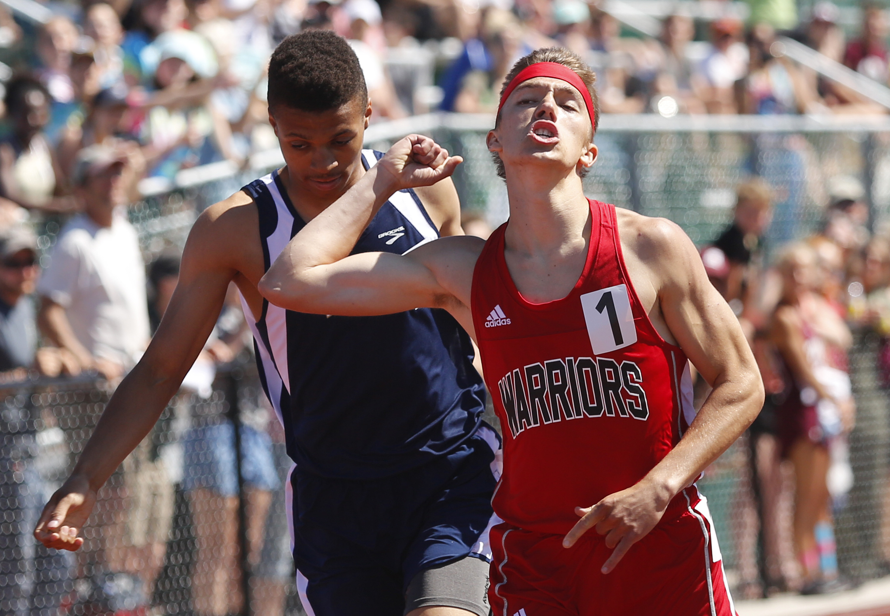 WATERBORO — The Maranacook girls and Caribou boys both withstood strong  challenges to win Saturday's Class C track and field team championships, ...