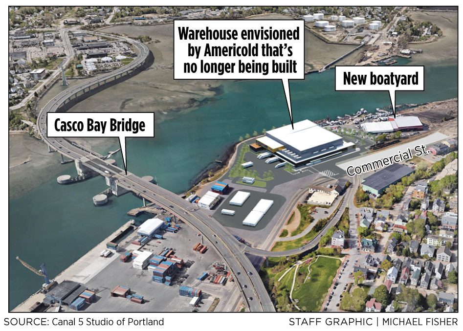 International Cold Storage Company Americold Has Abandoned A Plan To Build  A Massive Refrigerated Warehouse On The Portland Waterfront.