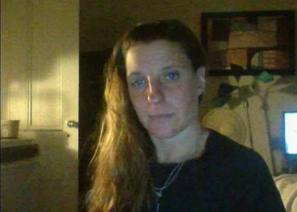 A recent photo of Tina Stadig, reported missing in July 2017.