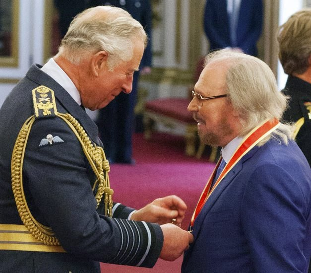 Last Surviving Bee Gee Bro Is Now Sir Barry Gibb